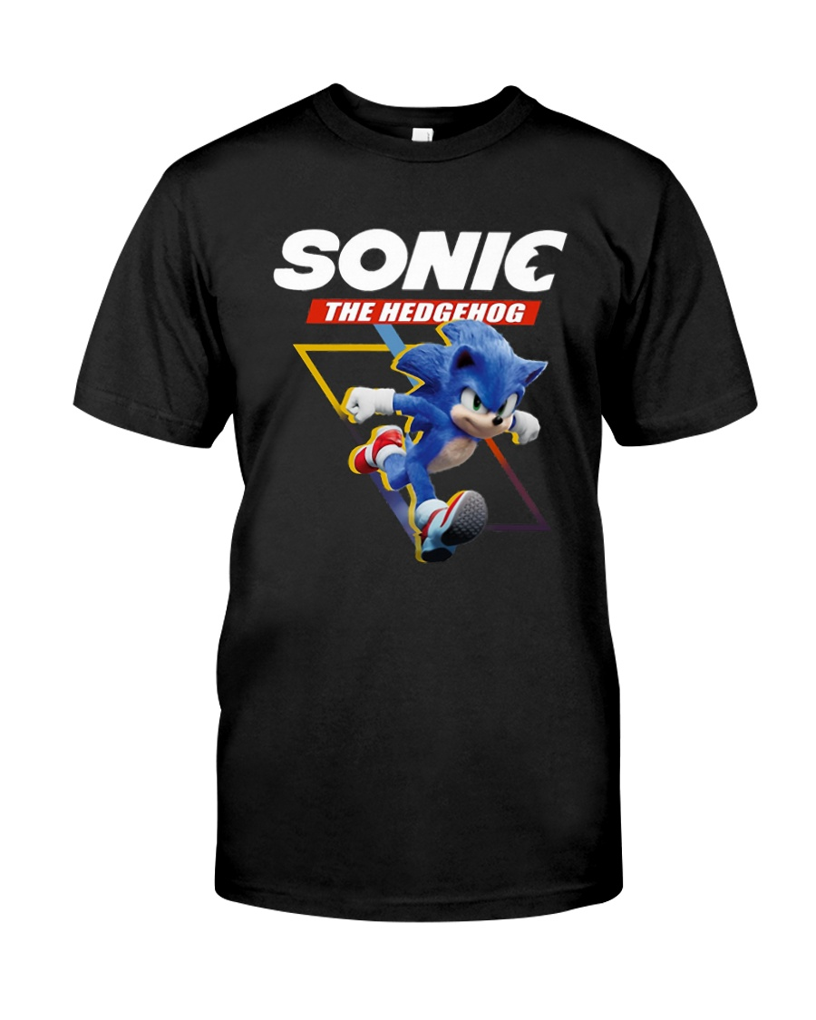 Official Sonic The Hedgehog Shirt Classic T-Shirt