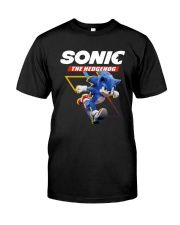 Official Sonic The Hedgehog Shirt Classic T-Shirt front