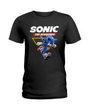 Official Sonic The Hedgehog Shirt Ladies T-Shirt tile