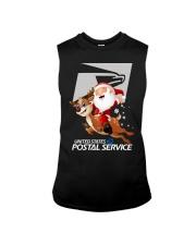 Santa Riding Deer United States Postal Shirt Sleeveless Tee thumbnail