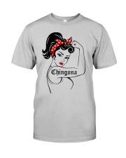 Strong Women Chingona Shirt Classic T-Shirt tile