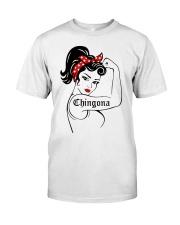 Strong Women Chingona Shirt Classic T-Shirt front