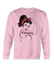 Strong Women Chingona Shirt Crewneck Sweatshirt thumbnail