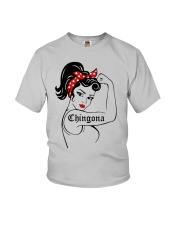 Strong Women Chingona Shirt Youth T-Shirt thumbnail