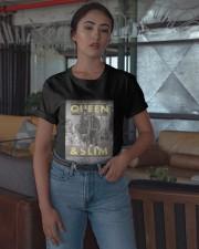 Queen And Slim T Shirt Classic T-Shirt apparel-classic-tshirt-lifestyle-05