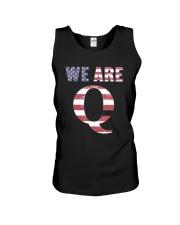 We Are Q Wwg1wga 17 Shirt Unisex Tank thumbnail