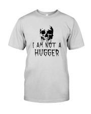Skull I'm Not A Hugger Shirt Premium Fit Mens Tee thumbnail