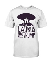 Three Stooges Latinos For Trump Shirt Classic T-Shirt front