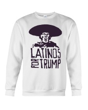 Three Stooges Latinos For Trump Shirt Crewneck Sweatshirt thumbnail