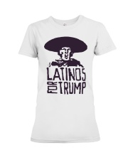 Three Stooges Latinos For Trump Shirt Premium Fit Ladies Tee thumbnail