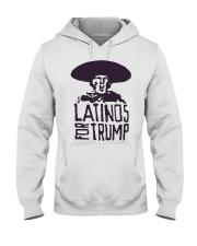 Three Stooges Latinos For Trump Shirt Hooded Sweatshirt thumbnail