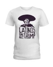 Three Stooges Latinos For Trump Shirt Ladies T-Shirt thumbnail