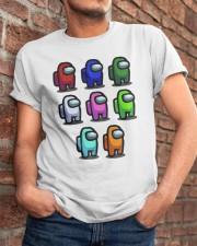 Among Us Characters Shirt Classic T-Shirt apparel-classic-tshirt-lifestyle-26