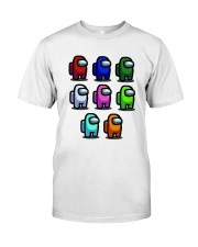 Among Us Characters Shirt Classic T-Shirt front