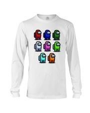 Among Us Characters Shirt Long Sleeve Tee thumbnail