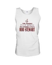 Bingo Real Grandmas Listen To Rod Stewart Shirt Unisex Tank thumbnail
