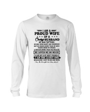 I Am A Proud Wife Of A Crazy Husband Shirt Long Sleeve Tee thumbnail