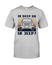 Vintage In Deep Or In Jeep Shirt Classic T-Shirt tile