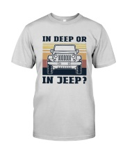 Vintage In Deep Or In Jeep Shirt Premium Fit Mens Tee thumbnail