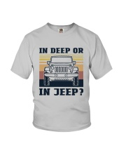 Vintage In Deep Or In Jeep Shirt Youth T-Shirt thumbnail
