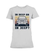 Vintage In Deep Or In Jeep Shirt Premium Fit Ladies Tee thumbnail
