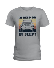 Vintage In Deep Or In Jeep Shirt Ladies T-Shirt thumbnail
