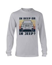 Vintage In Deep Or In Jeep Shirt Long Sleeve Tee thumbnail