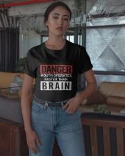Danger Mouth Operates Faster Than Brain Shirt Classic T-Shirt apparel-classic-tshirt-lifestyle-05