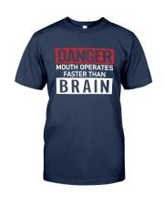 Danger Mouth Operates Faster Than Brain Shirt Classic T-Shirt tile