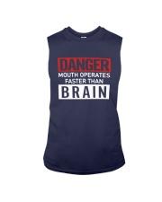 Danger Mouth Operates Faster Than Brain Shirt Sleeveless Tee thumbnail