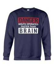 Danger Mouth Operates Faster Than Brain Shirt Crewneck Sweatshirt thumbnail