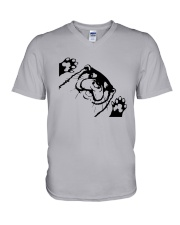 Otter Lovers Shirt V-Neck T-Shirt thumbnail