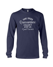 The 2020 Quarantine Couldn't Us Justmarried Shirt Long Sleeve Tee thumbnail