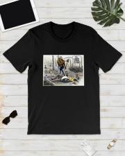 Donald Trump It's Climate Change You Idiot Shirt Classic T-Shirt lifestyle-mens-crewneck-front-17