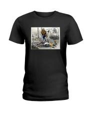 Donald Trump It's Climate Change You Idiot Shirt Ladies T-Shirt thumbnail
