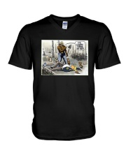 Donald Trump It's Climate Change You Idiot Shirt V-Neck T-Shirt thumbnail