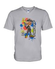 Juice Wrld X Faze Shirt V-Neck T-Shirt thumbnail