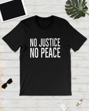 No Justice No Peace Shirt Classic T-Shirt lifestyle-mens-crewneck-front-17