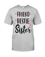 No Friend Bestie Sister Shirt Classic T-Shirt tile