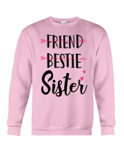 No Friend Bestie Sister Shirt Crewneck Sweatshirt thumbnail