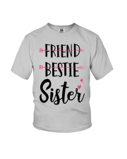 No Friend Bestie Sister Shirt Youth T-Shirt thumbnail