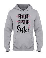 No Friend Bestie Sister Shirt Hooded Sweatshirt thumbnail