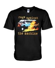 Rage Against The Machine T Shirt V-Neck T-Shirt thumbnail