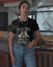 This Girl Loves Her Plumber Shirt Classic T-Shirt apparel-classic-tshirt-lifestyle-05