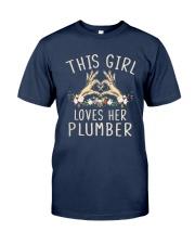 This Girl Loves Her Plumber Shirt Classic T-Shirt tile