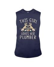 This Girl Loves Her Plumber Shirt Sleeveless Tee thumbnail