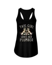 This Girl Loves Her Plumber Shirt Ladies Flowy Tank thumbnail