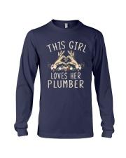 This Girl Loves Her Plumber Shirt Long Sleeve Tee thumbnail