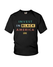 Invest In Black America Shirt Youth T-Shirt thumbnail