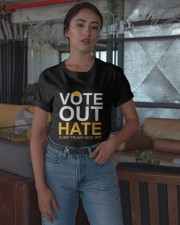 Vote Out Hate Dump Trump Now 3rd Shirt Classic T-Shirt apparel-classic-tshirt-lifestyle-05